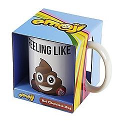 STOCKING FILLERS - Emoji poo mug and hot chocolate set