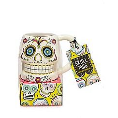 Debenhams - Skull mug with hot chocolate - 365g