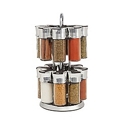 La Cucina - 16 jar carousel spice rack - 2.3kg