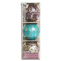 Whittards of Chelsea - Christmas Bauble Trio - 140g