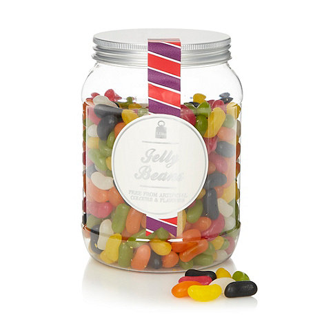 Sweet Shop - Jelly beans 1.15kg sweet jar