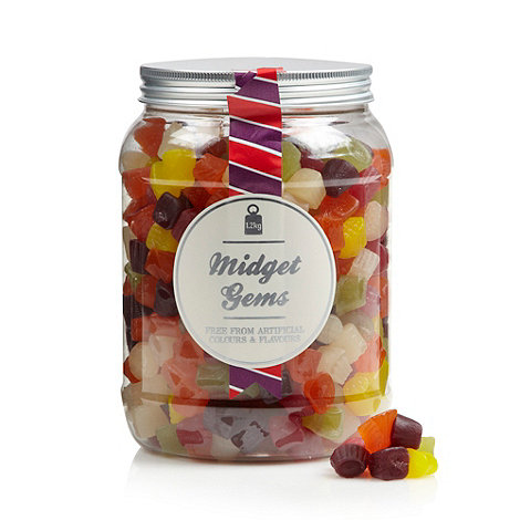 Sweet Shop - Midget gems 1.2kg sweet jar