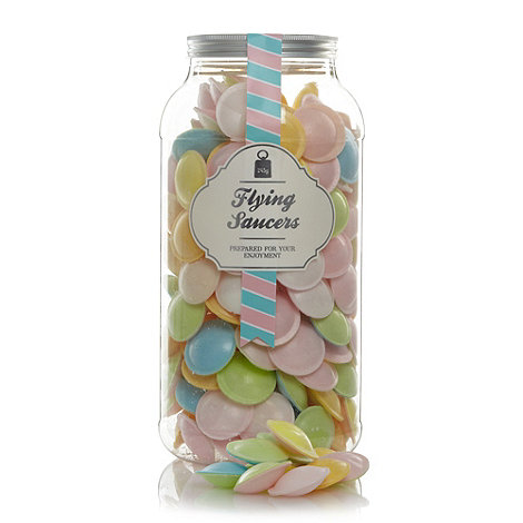 Sweet Shop - Flying saucers 245g sweet jar