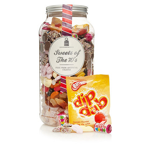 Sweet Shop - Sweets of the 70+s 2.215kg gift jar