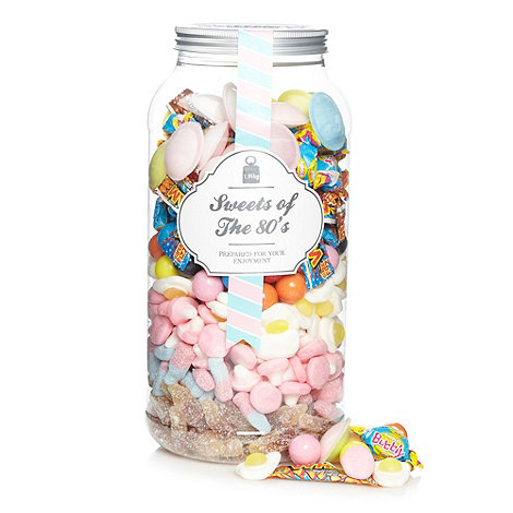 Sweet Shop - Sweets of the 80+s 1.94kg gift jar