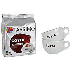 Costa - Tassimo cappuccino set for two - 280g