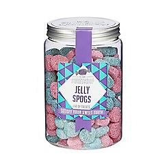 Sweet Shop - Jelly Spogs jar of sweats - 850g