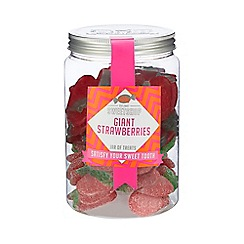 Sweet Shop - Giant strawberries jar of sweets - 820g