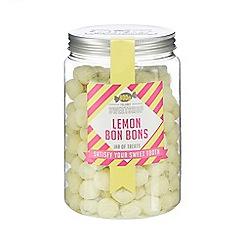 Sweet Shop - Lemon bon bons jar of sweets - 800g