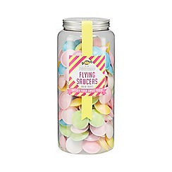 Sweet Shop - Flying Saucers Jar of Sweets - 200g