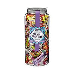Sweet Shop - Fabulous Favourites' Jar of Sweets - 1.02kg