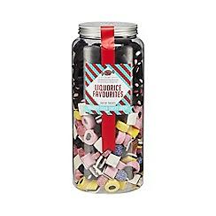 Sweet Shop - Liquorice Favourites Jar of Sweets - 2kg