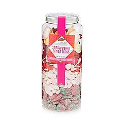 Debenhams - 'Strawberry Sensations' jar of sweets - 1.85kg