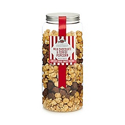 Sweet Shop - Milk chocolate and toffee popcorn jar of treats - 730g