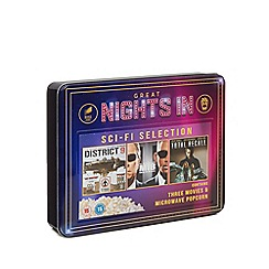 Sony - 'Great Nights In' Sci-Fi selection DVD and popcorn set - 210g