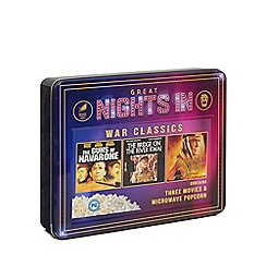 Sony - 'Great Nights In' War Classics DVD and popcorn set - 210g