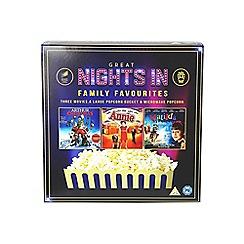 Sony - Family favourites (Arthur Christmas, Annie, Matilda) popcorn bucket