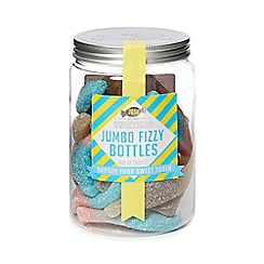 Debenhams - Sweet Shop Jumbo Fizzy Bottles Jar - 765g