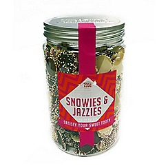 Debenhams - Sweet Shop Snowies & Jazzies Jar - 735g