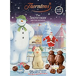 Thorntons - Snowman advent calendar 180g