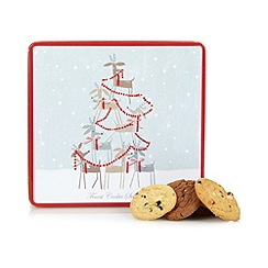 Debenhams - Christmas tin with assorted biscuits