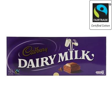 1kg 'Dairy Milk' chocolate bar