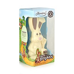 Thorntons - White 'Harry Hopalot' chocolate Easter bunny