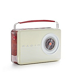 Debenhams - Radio biscuits tin