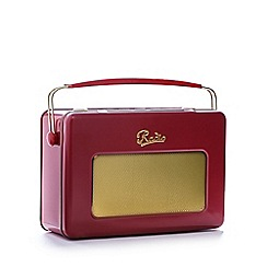 Debenhams - Vintage radio tin and biscuit set