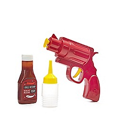 Debenhams - Sauce gun and chilli ketchup set