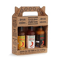 South Devon Chilli Farm - Chilli sauce gift set