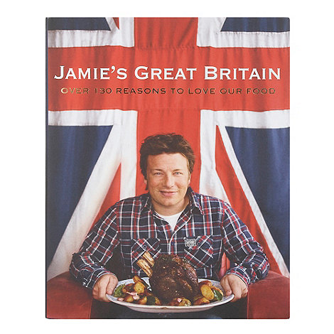 Jamie Oliver - Jamie's Great Britain cookbook