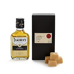Debenhams - Whisky and fudge in a gift box
