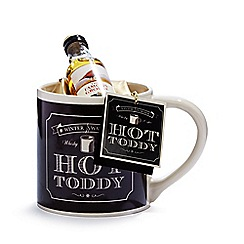 Debenhams - Hot Toddy mug with whiskey and coffee