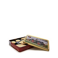 Stewarts - 400g luxury Scottish shortbread selection in tractor tin
