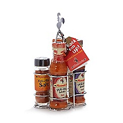 Nandos - Rack 'em Up' salt and sauce set