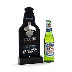Debenhams - Peroni wall mounted bottle opener set