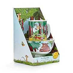 The Gruffalo - Breakfast set with hot chocolate