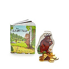 The Gruffalo - Money box and book with chocolate coins