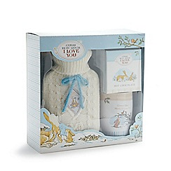 Guess How Much I Love You - Hot water bottle, mug and hot chocolate set