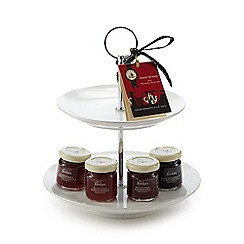 Mrs Bridges - Cake stand with preserve selection