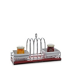 Mrs Bridges - Toast rack and jam set