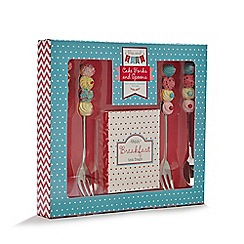 Debenhams - Cake forks and spoons set