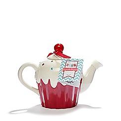 Debenhams - Pink cupcake teapot set