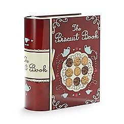 Debenhams - 'The Biscuit Book' tin and biscuit set