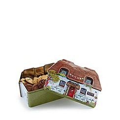 Debenhams - Biscuits selection in a cottage tin