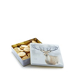 Debenhams - Scottish shortbread stag Christmas tin