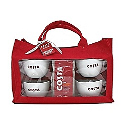 Costa - Hessian bag gift set