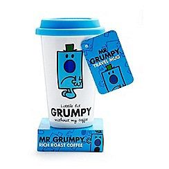 Mr Men - Mr. Grumpy travel mug and coffee set