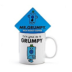 Mr Men - Mr. Grumpy mug and coffee gift set